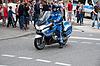 Фото 300 DPI: Полицейский на мотоцикле