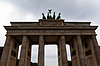 Berlin - Brandenburger Tor - Brandenburg Gate | Stock Foto