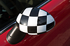 ID 3380944   Checkered Exterior Side View Mirror   High resolution stock photo   CLIPARTO