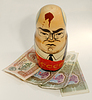Photo 300 DPI: Mikhail Gorbachev as Russian Nested Doll