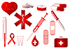 Vector clipart: Medical icons collection