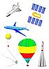 Luftschiffahrt und Weltraumschiffe