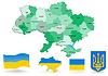 Ukraine Karte