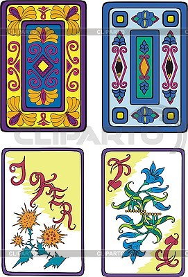 Playing cards   Stock Vector Graphics  ID 3001041