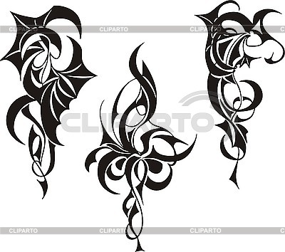 Tribal Tattoo Designs | Stock Vector Graphics |ID 3000642