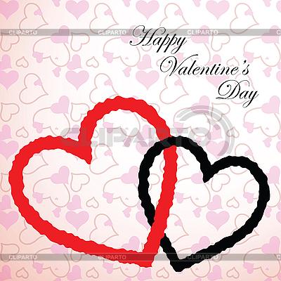 Valentine serca | Klipart wektorowy |ID 3001447