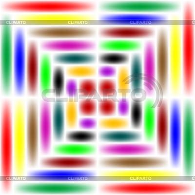 Rainbow Square | Klipart wektorowy |ID 3001549