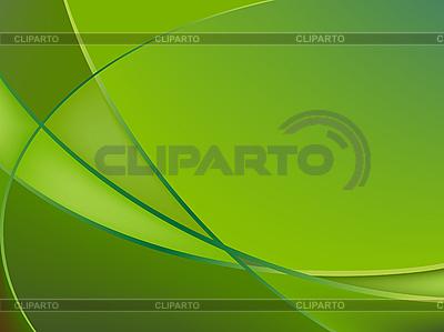抽象的绿色背景 | 向量插图 |ID 3001569