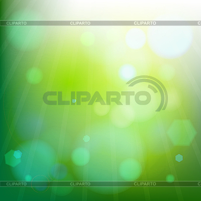 Futuristische grüne abstrakte Komposition | Stock Vektorgrafik |ID 3001577