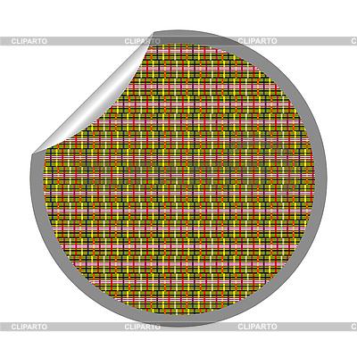 Farbiger Tarnung-Aufkleber | Stock Vektorgrafik |ID 3001713