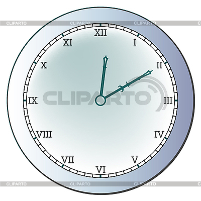 Ancient clock | Stock Vector Graphics |ID 3001729
