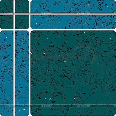 Blaue Keramikfliesen   Stock Vektorgrafik  ID 3002701