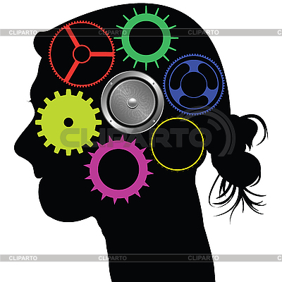 Brain mechanism | Stock Vector Graphics |ID 3002753