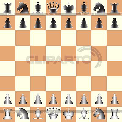 Schachfiguren | Stock Vektorgrafik |ID 3002937