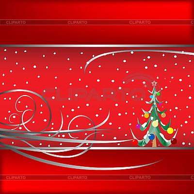 크리스마스 트리 카드 | 벡터 클립 아트 |ID 3002981