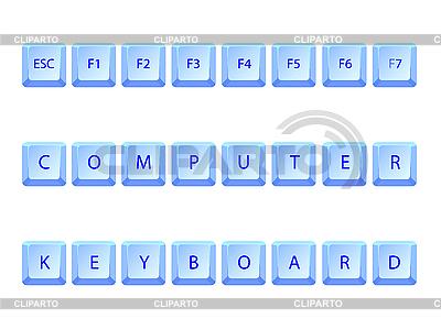 Computer keyboard | Stock Vector Graphics |ID 3003179