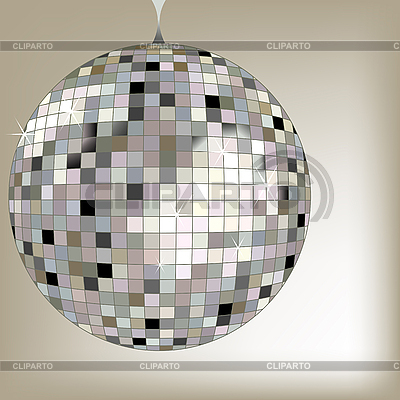 Disco ball black | Stock Vector Graphics |ID 3003389