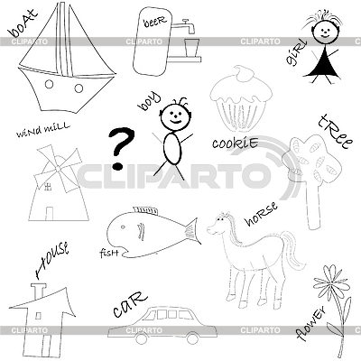 Drawings | Stock Vector Graphics |ID 3003433