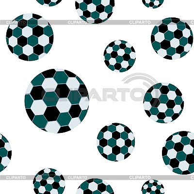 Football seamless pattern | Stock Vector Graphics |ID 3003669