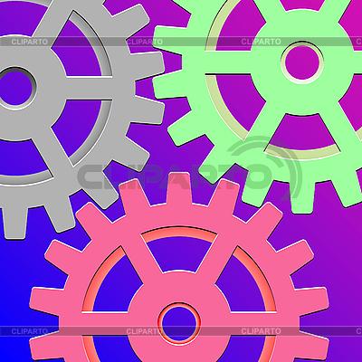Gear box mechanism | Stock Vector Graphics |ID 3003741
