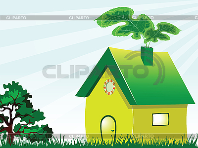 Green house | Stock Vector Graphics |ID 3003905