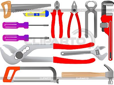 Narzędzia ręczne | Klipart wektorowy |ID 3004011