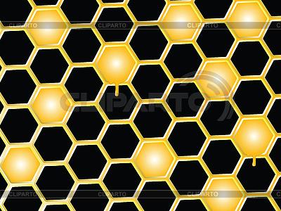 Honey comb background   Stock Vector Graphics  ID 3004129