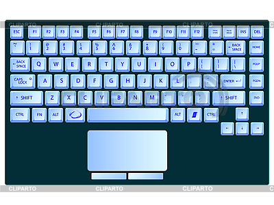 This is an image of Printable Keyboards within typing