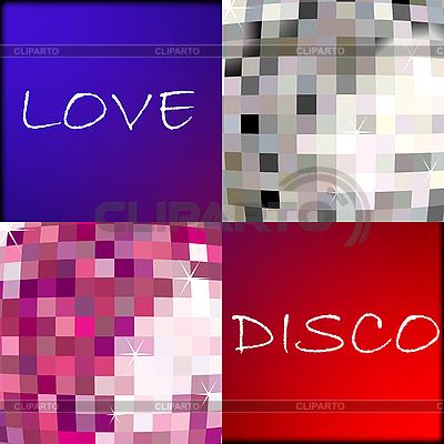 Love disco | Stock Vector Graphics |ID 3004336