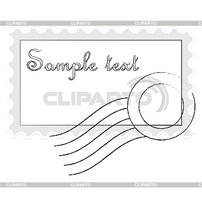 Briefmarke | Stock Vektorgrafik |ID 3004348