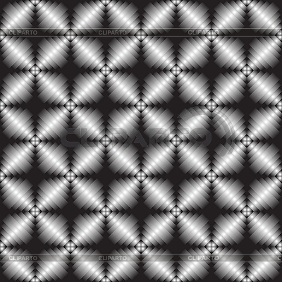 Metallic geometric seamless texture | Klipart wektorowy |ID 3004432