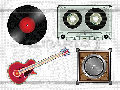 Kolekcja ikon muzyki | Klipart wektorowy |ID 3004508