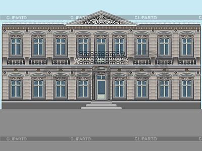 Stary dom | Klipart wektorowy |ID 3004560