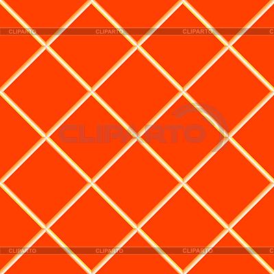 Pomarańczowy bez szwu płytek ceramicznych | Klipart wektorowy |ID 3004592