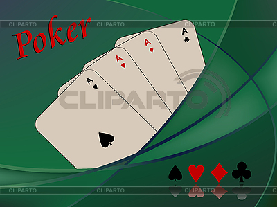 Poker cards composition | Stock Vector Graphics |ID 3004745