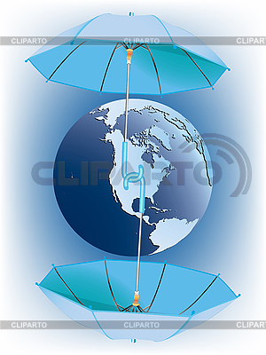 Protecting earth | Stock Vector Graphics |ID 3004759