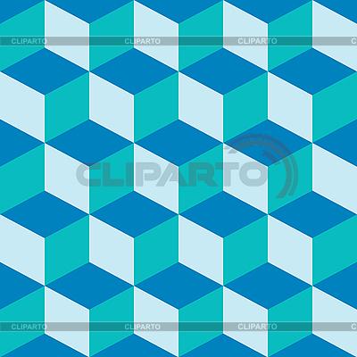 Blaue Kuben | Stock Vektorgrafik |ID 3004767