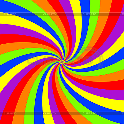 Rainbow swirl pattern | Stock Vector Graphics |ID 3004841
