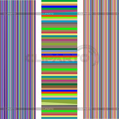 3 가지 다른 줄무늬의 집합 | 벡터 클립 아트 |ID 3005222