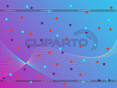 Stars abstract background | Stock Vector Graphics |ID 3005412