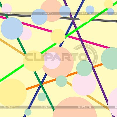Streifen und Blasen   Stock Vektorgrafik  ID 3005466