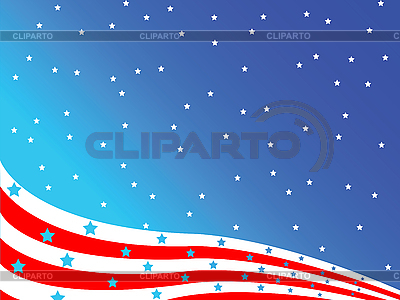Stylized american flag | Stock Vector Graphics |ID 3005502