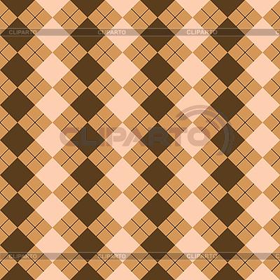 Orangefarbiges Quadratisches Muster | Stock Vektorgrafik |ID 3005552