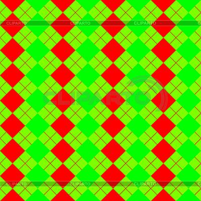 Grünes Quadratisches Muster | Stock Vektorgrafik |ID 3005558