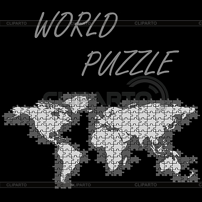 世界之谜 | 向量插图 |ID 3005960
