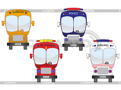 City vehicles set | Stock Vector Graphics |ID 3006260