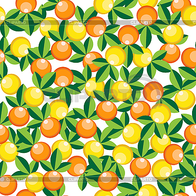 Oranges and lemons pattern | Stock Vector Graphics |ID 3006280