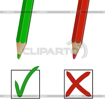 Pencil marks | Stock Vector Graphics |ID 3029233