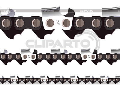 Chain saw seamless | Stock Vector Graphics |ID 3112392