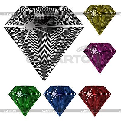 Diamanten | Stock Vektorgrafik |ID 3132886